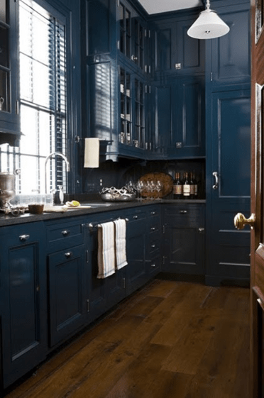 Farrow-and-ball-30-hague-blue-on-kitchen-cabinets-navy-cabinets-blue-kitchen-cabinets