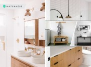 Keep your counters clean with minimalist bathroom storage 2
