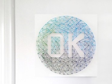 Ombre-string-art