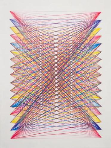 Arcobaleno-string-art