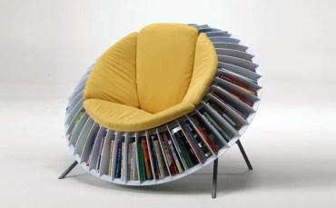 Sunflower-bookshelf-chair