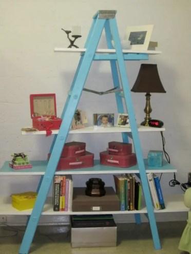 Blue-ladder-shelving1