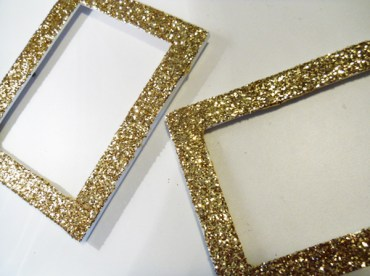 Diy-glitter-frames