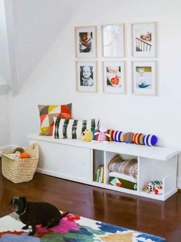 Diy-storage-bench-kids