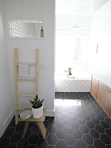 02-black-hex-tiles-and-white-grout-and-white-subway-tiles-with-black-grout