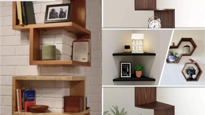 30 unique wall shelves for prettier home decor2