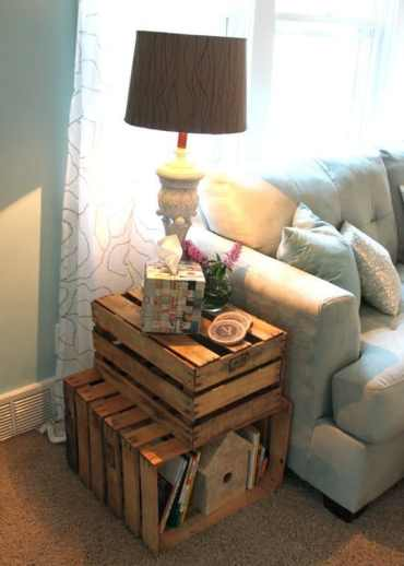 Crate-end-table