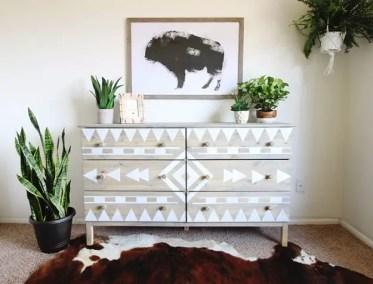 Diy-aztec-inspired-dresser