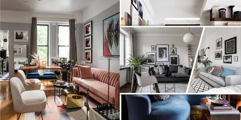 Sophisticated studio apartment with a large living room worthy of a binge-watching party 2