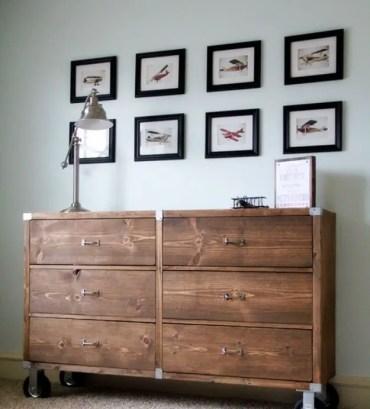 Wood-dresser-with-wheels