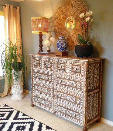 Indian-inlay-stencil-kit-diy-stenciled-dresser-e1426560481522