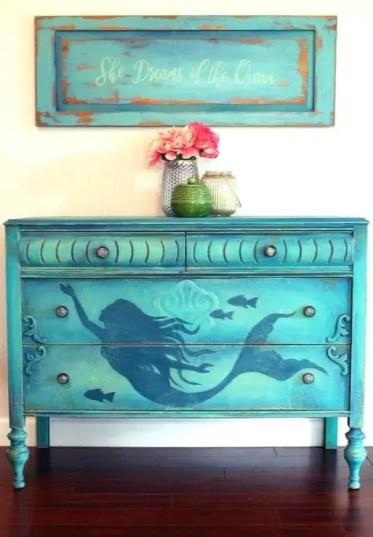 Painted-mermaid-dresser