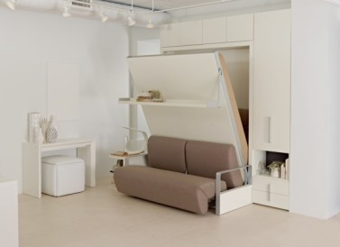 Queen-size-wall-bed-murphy-bed-with-sofa-space-saving-furniture-ideas