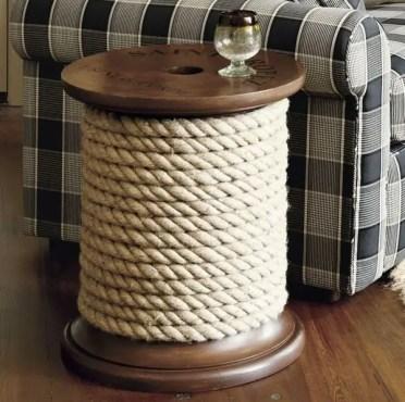 Rope-crafts-ideas-diy-nautical-rope-decor-spool-side-table-ideas