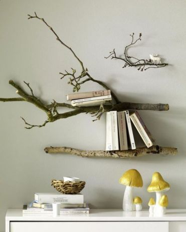 1-wall-mounted-shelves-made-of-branches-are-a-cool-and-chic-idea-to-rock-in-your-home-no-special-decor-is-needed
