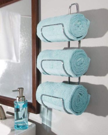 24-a-stylish-wall-mounted-towel-holder-attached-by-the-sink-is-a-life-changer-that-will-save-much-space