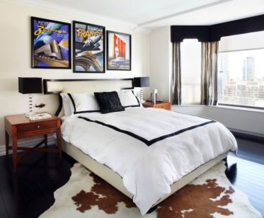 30-ideas-for-decorating-wall-with-posters-a-vintage-atmosphere-in-modern-interior-design-1-434