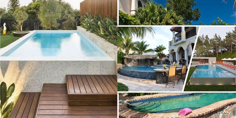 40 perfect summer above ground pool landscaping designs2