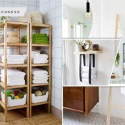 45 kinds of towel rack you can install to your bathroom2