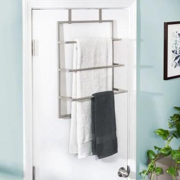 Steel-bath-over-the-door-towel-rack