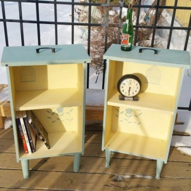 Upcycled-drawers-to-side-tables