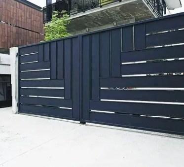 Contemporary-driveway-entry-gates-ideas