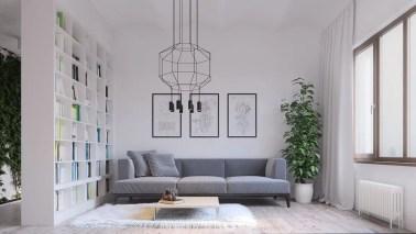 Stencil-chandeliers-square-bookcase-minimalist