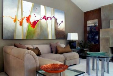 Use-abstract-art-as-decorative-items-for-the-modern-home-9-439