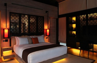 1-sculptural-lighting-idea-for-the-japanese-bedroom