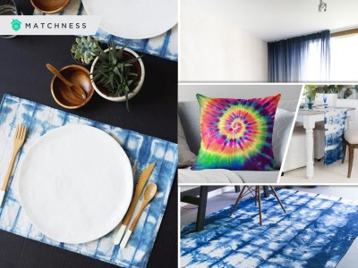 50 ideas to apply tie-dye designs for your home decoration2
