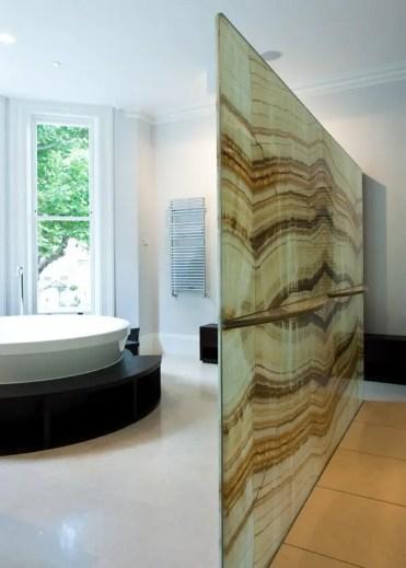 Contemporary-bathroom-design-decorative-room-divider-glass-divider