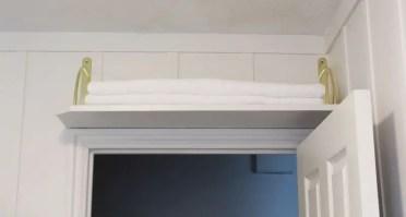 Diy-above-door-shelf-wonderful-use