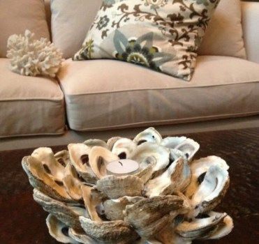Diy-oyster-shell-candle-holder