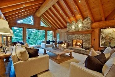 Modern-living-room-inspired-by-log-cabin-design
