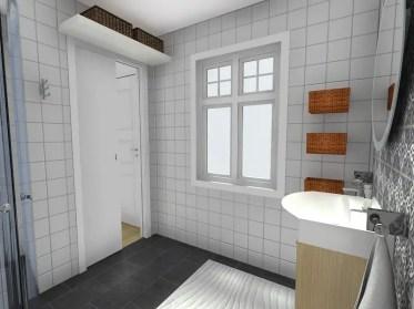 Roomsketcher-diy-bathroom-storage-ideas-wall-mounted-shelf-baskets
