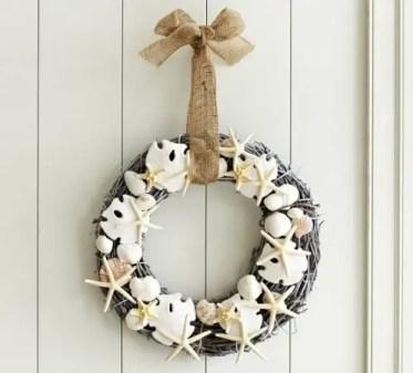 Seashell-wreath