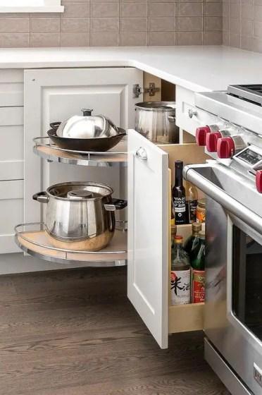 Corner-cabinet-rotating-pot-pan-shelves