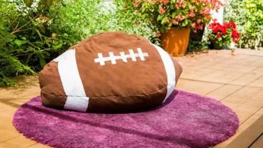 Diy-football-bean-bag-chair