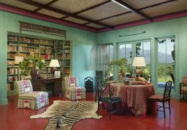 Eclectic-green-room-decor-ideas