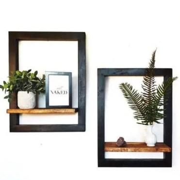 Floating-shelves-black-wooden-frame-flowers-wall-decor-500x500-1