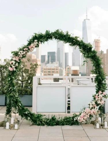 Greenery-floral-wedding-wreath