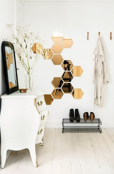 Honeycomb-shaped-mirrors