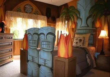 Kids-bedroom-tropic-motive