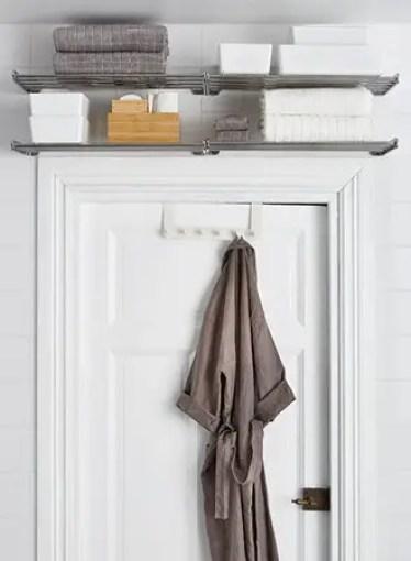 Shelf-above-bathroom-door-bathroom-storage-ideas