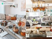 30 cozy fall sofa decorations you can have2