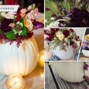 45 pretty cute pumpkin vases to complete your fall decor2