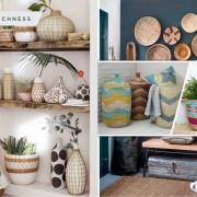 55 boho baskets for any home needs2