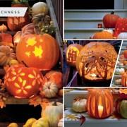 60 interesting pumpkin outdoor lighting ideas2