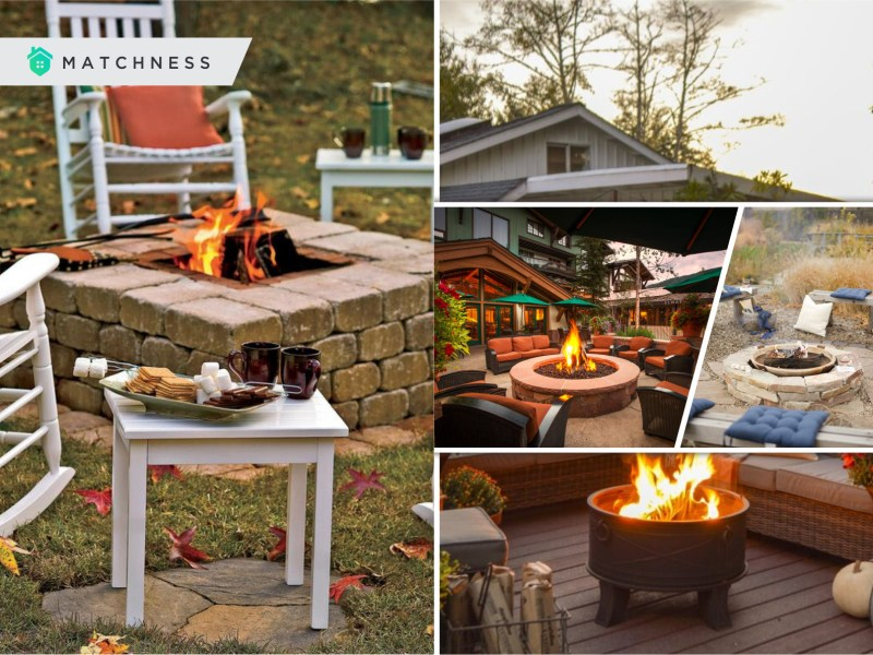 Add fire pit to your outdoor space for your cozy fall gathering2