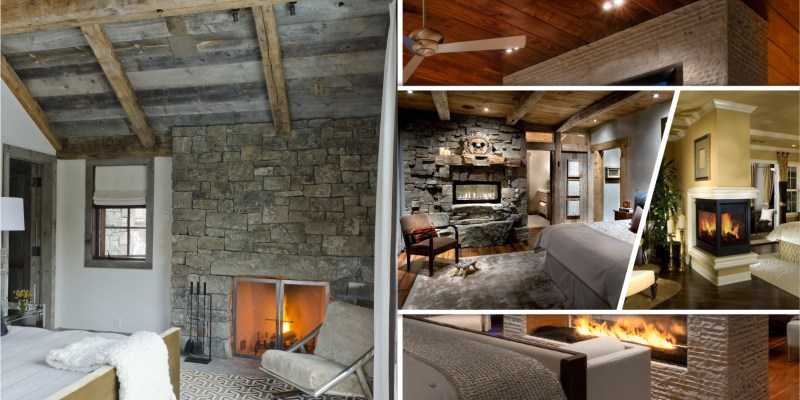 Consider to have a fireplace in your bedroom2